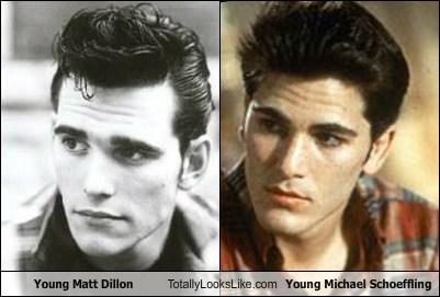 80s actor celeb funny matt dillon michael schoeffling TLL - 6435985152