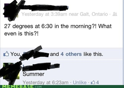 facebook,Heat,seasons,summer