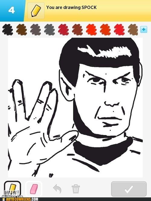 draw something,Spock,Star Trek