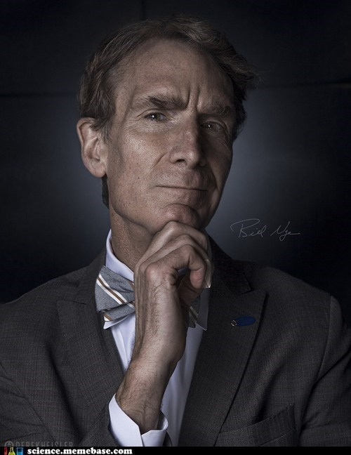 bill nye,incredible,portrait,Professors