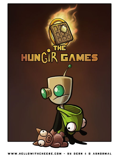 best of the week crossover Fan Art Invader Zim hunger games - 6436571648