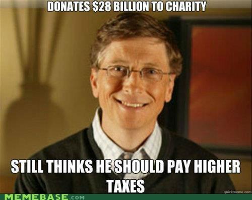 Bill Gates charity Good Guy Greg rich taxes - 6436682240