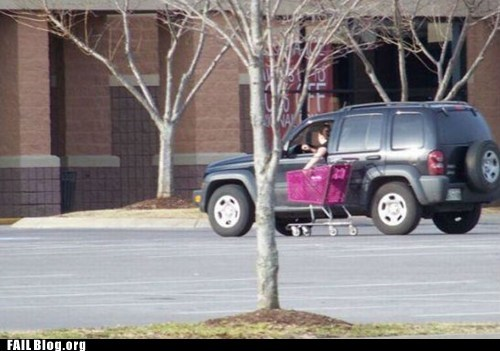 driving,shopping cart,suv