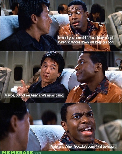 chris tucker,dont-panic,From the Movies,godzilla,Jackie Chan,Movie
