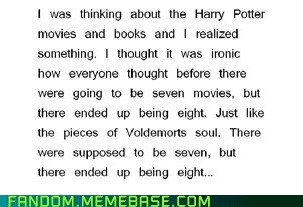 Harry Potter,horcruxes,It Came From the,It Came From the Interwebz,movies