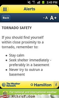 basement,outrun a basement,tornado safety
