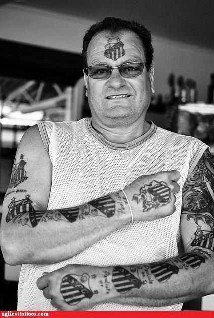 arm tattoos brazil face tattoos soccer - 6436991232