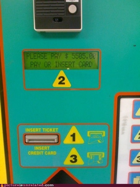 card,pay,toll booth,wtf