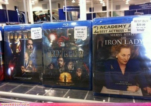 actor celeb funny iron man Meryl Streep Movie robert downey jr the iron lady - 6437284096