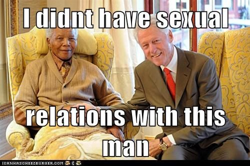bill clinton,nelson mandela,political pictures