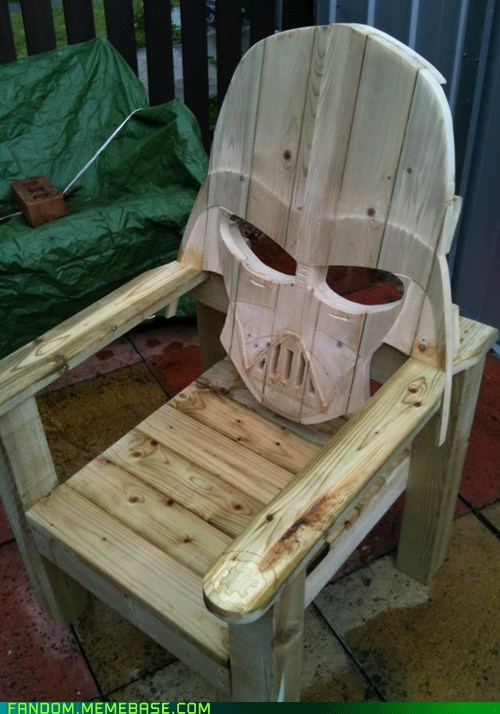 chair darth vader It Came From the It Came From the Interwebz scifi star wars - 6437619968