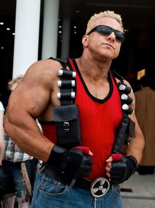 character actor cosplay Duke Nukem video games - 6437628416