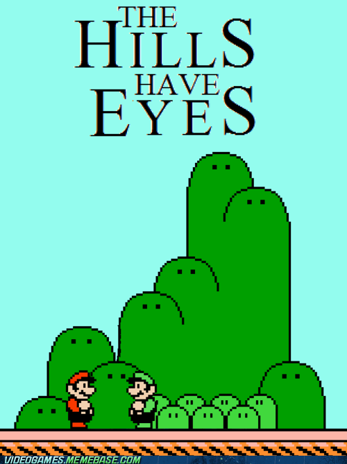 classic,mario,the hills have eyes