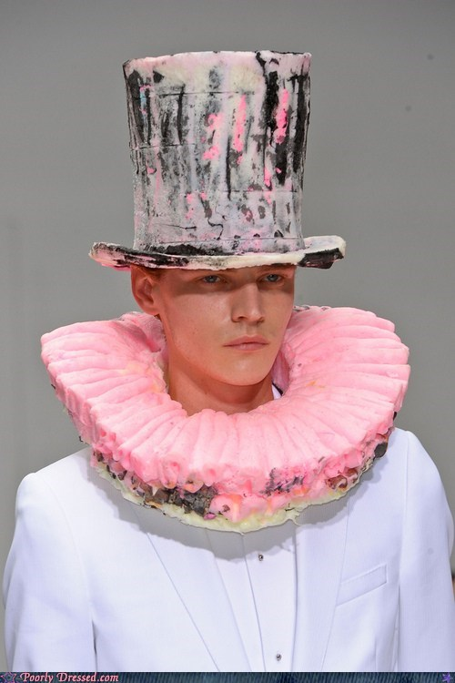 fashion hat High Fashion mad hatter - 6437714176