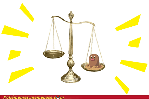 diglett diglett wednesday scale the internets weight