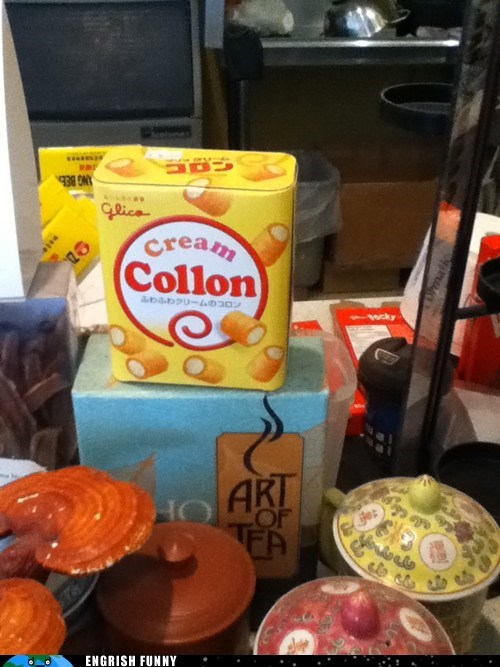 colon,cream collon,cream colon