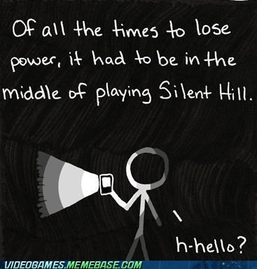 dark,lost power,scary,silent hill,the feels