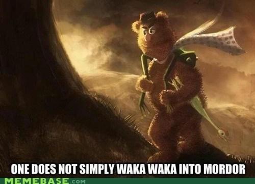 Lord of the Rings Memes muppets waka waka - 6437835776