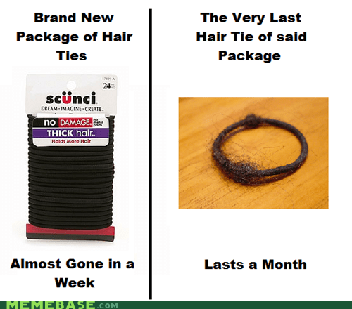 girls hair hair ties Memes - 6437855744