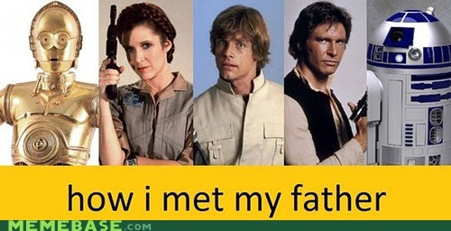how i met your mother Memes scifi star wars - 6437913600