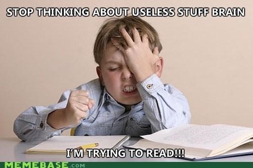 brain Memes reading truancy story useless - 6437921536