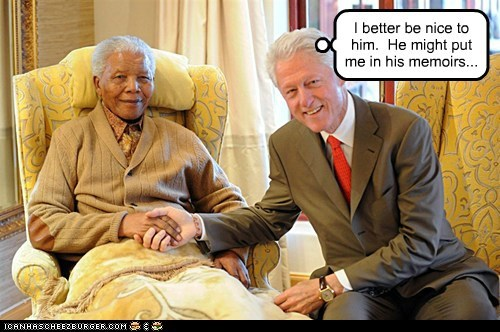 bill clinton nelson mandela political pictures - 6437996544