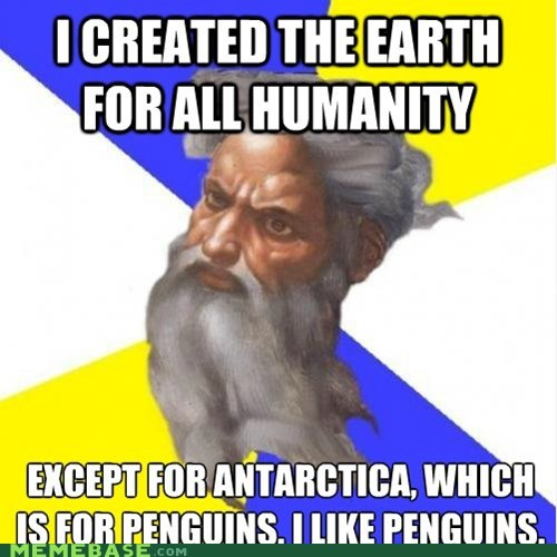 antartica earth god Memes penguins - 6438201856