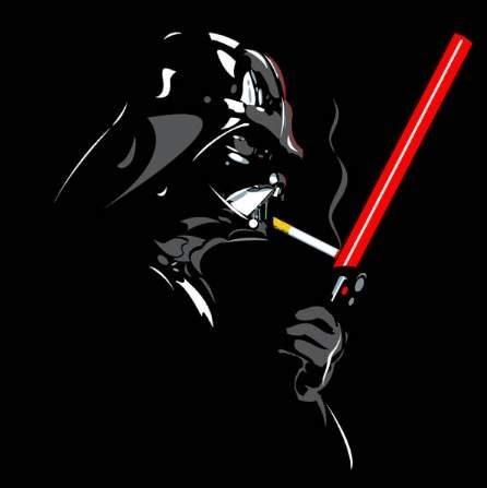 cigarette lighter darth vader Fan Art lightsaber scifi star wars - 6438306816