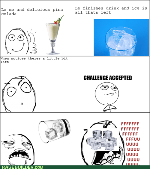 drink,fu guy,ice,Rage Comics