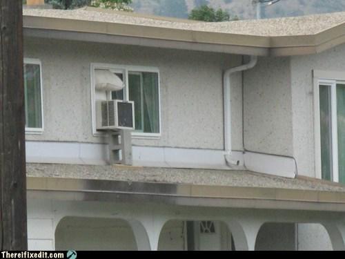 ac unit air conditioning cinder block prop - 6438742784