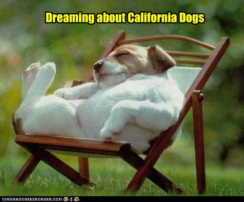 Dreaming about California Dogs