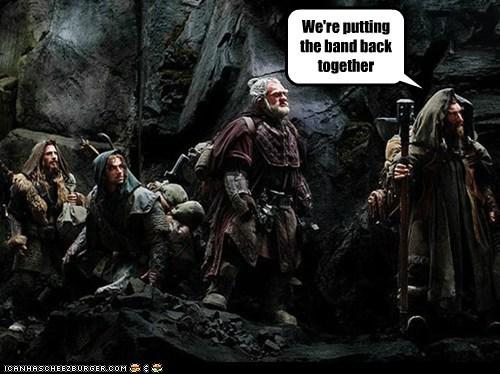 band dwarves The Hobbit - 6439069184