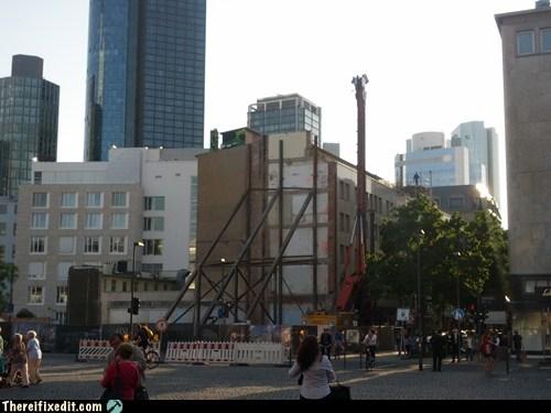 building frame ghetto prop scaffolding - 6439377152