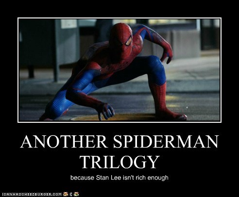 andrew garfield another pose reboot remakes rich Spider-Man stan lee trilogy - 6439628800