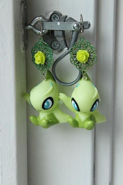 accessories celibi earrings Fan Art for sale Pokémon - 6439644160