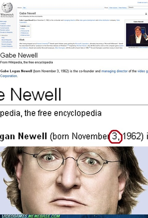3 birthday gabe newell meme valve wikipedia - 6439648000
