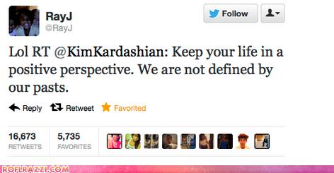 celeb funny kim kardashian Music rap ray j tweet twitter - 6439777024
