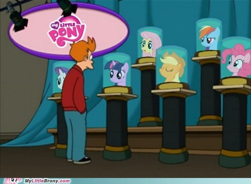 futurama my little pony TV - 6439820544