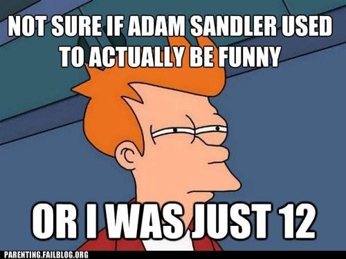 adam sandler fry meme futurama - 6439928320