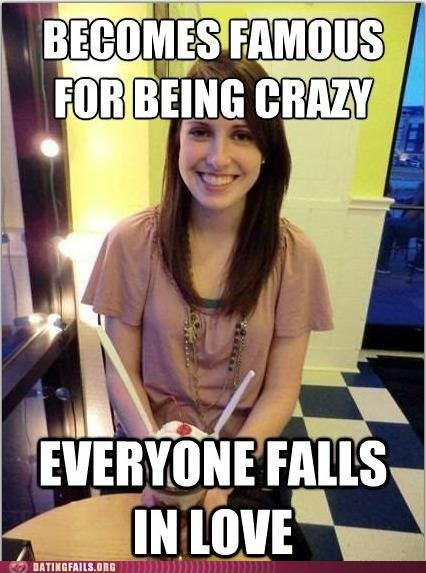 amicable crazy everyone falls in love overly attached girlfrien overly attached girlfriend