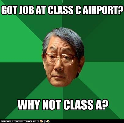 GOT JOB AT CLASS C AIRPORT?