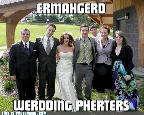 derp Ermahgerd Good Times pherterbermbs wedding - 6440260864