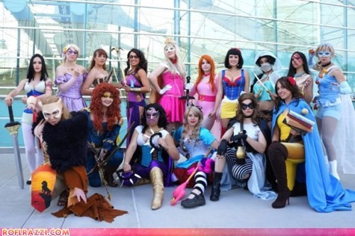 comic con,disney princesses,funny celebrity pictures,if style could kill,super heroes
