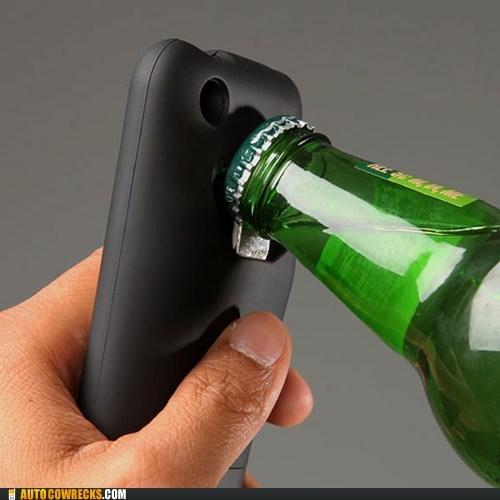 bottle opener handy iphone case take my money
