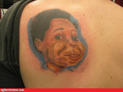 back tattoos,different strokes,gary coleman