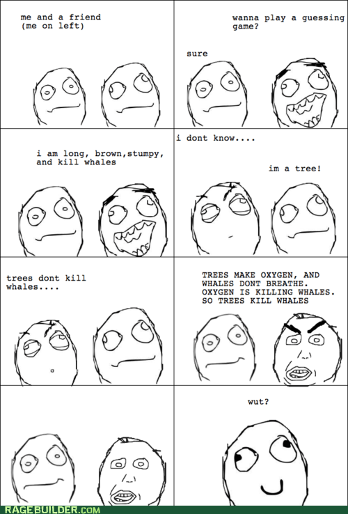 derp Rage Comics riddle trees wtf - 6440776192