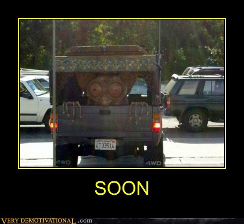 creepy eyes hilarious SOON truck - 6440871424