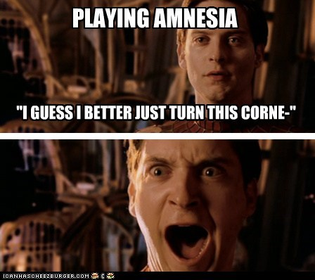 actor amnesia celeb comic funny game Hall of Fame Spider-Man tobey maguire