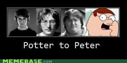 family guy Harry Potter Memes potter pounds - 6441236992