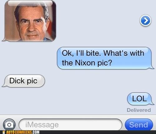 clever potus Richard Nixon why the nixon pic - 6441242624
